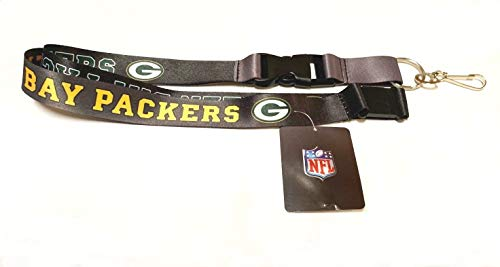 Pro Specialties Group Green Bay Packers Ombre Lanyard with Safety Latch ()