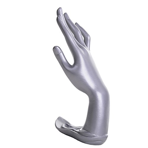 Jili Online Resin Mannequin Hand Finger Jewelry Bracelet Necklace Stand Holder Rack Display