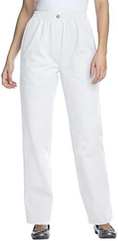 Women's Plus Size Tall 100 Cotton Comfort Pull On Jean