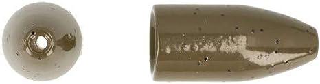 Deka Eco Bullet***Messingbullet***Schont den Geldbeutel und die Umwelt***Sauber gefr/äster Schnurkanal ohne Inlay***Direkter Kontakt***