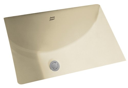 Undermount Bathroom Sink Linen - American Standard 614000.222 Studio Ceramic undermount Rectangular Bathroom sink, 21.25'' L x 15.25'' W x 8.25'' H, Linen