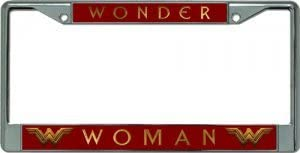 Custom Wonder Woman  v50 Vanity License Plate