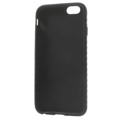 jbTec® TPU-Case / Hülle zu Apple iPhone 6 / 6s- CARBON Schwarz - Handy-Schutzhülle