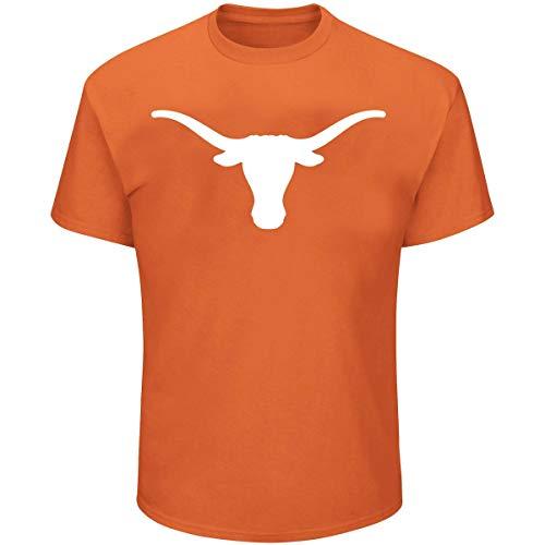 Profile Varsity University of Texas Men's Big & Tall Longhorns Logo T-Shirt (4XL)