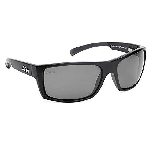 Hobie Baja-010168 Polarized Rectangular Sunglasses, Satin Black, 64 - Sunglasses Woody Hobie