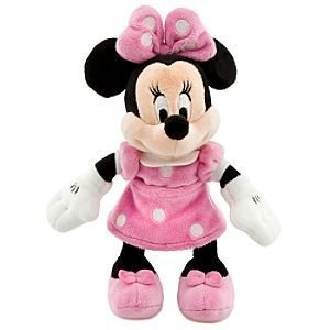 Disney Toy Hobby Disney Minnie Mouse Minnie Mouse Mini Bean Bag Plush - Pink Dress [parallel import goods] from Disney