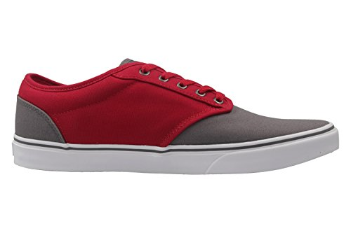 Vans Mn Atwood, Zapatillas para Hombre gris/rojo