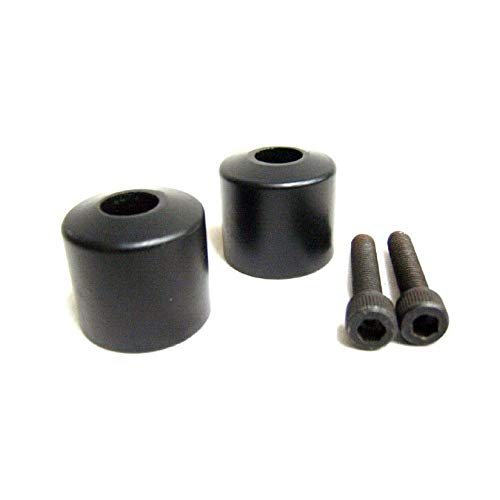 HANDLE BAR END WEIGHTS BLACK FOR ROYAL ENFIELD #521201/B - HKTRADERS-US (Best Handlebar For Royal Enfield)