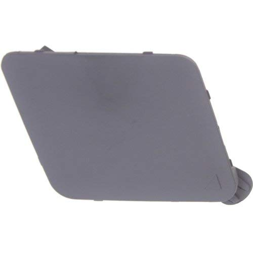 - Front Tow Eye Cover Compatible with BMW 7-SERIES 2009-2012 Primed (Gray)