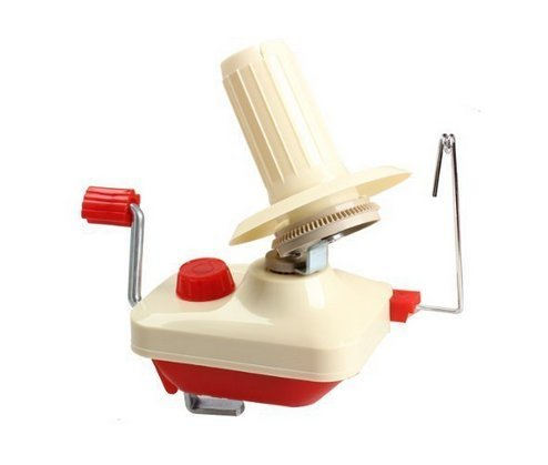 B&S FEEL Hand Operated Wool Winder Holder for Yarn/fiber/wool/string Ball Winder