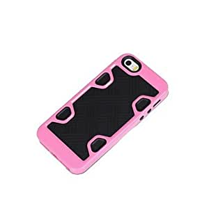 Mini - Newest High Quality Colorful PC TPU Case Cover for iphone5/5S , Color: 10