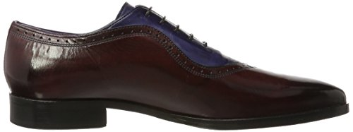 MELVIN Herren CLASS amp; Violett HAND Crust Burgundy 3 Lance SHOES Hrs Oxfords 1 HAMILTON MADE 2 OF MH 16 Navy qrq7084