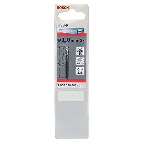 10 St/ück, /Ø 4,7 mm Bosch Professional Metallbohrer HSS-R rollgewalzt