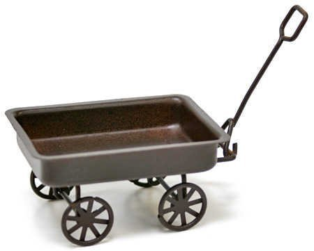 - Timeless Miniatures-Rusty Tin Wagon