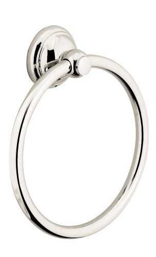 Hansgrohe 06095830 C Towel Ring, Polished - Retroaktiv Shower Faucet Hansgrohe