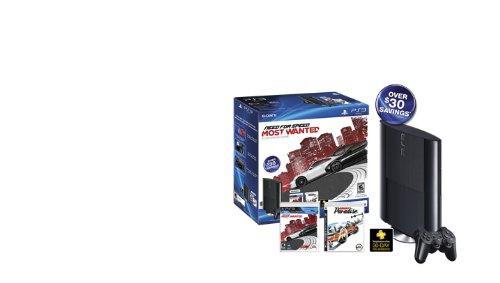 Sony PlayStation 3 250GB Console Bundle Need for Speed/Bu...