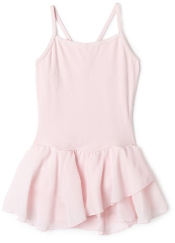 - Capezio Big Girls' Camisole Cotton Dress,Pink,L (12-14)