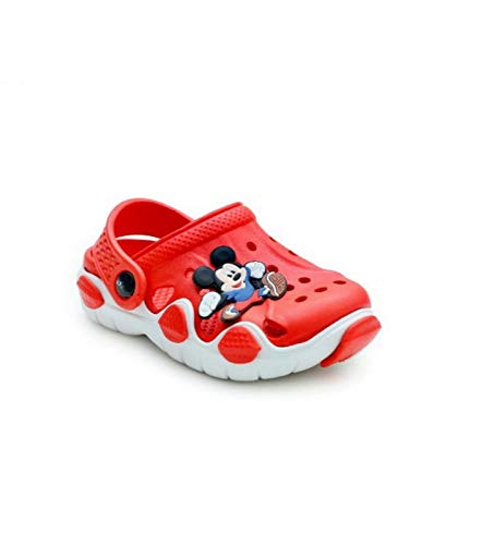 Fashion shoes Boy's & Girls' Red Clog – 3 Kids UK