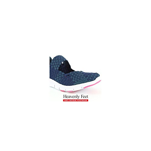 Heavenly Feet Heavenly Feet Mambo Navy Shoes - Botas para mujer azul marino