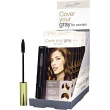 Cover Your Gray Brush In Wand (Pack of 6) Jet Black by Cover Your Gray