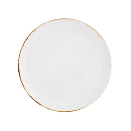 Gold Coupe Dinner Plate - 4