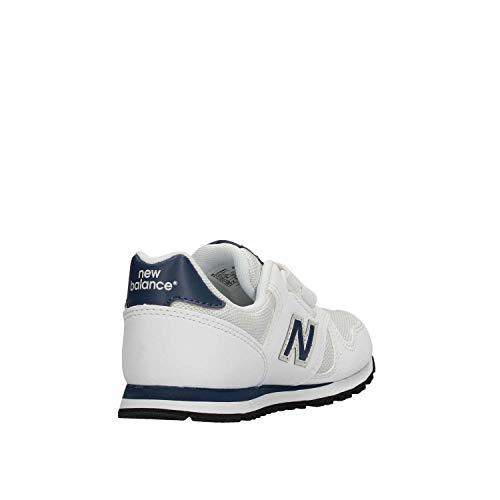 New bianco Boy Trainers bianco White 373 Balance 4PqO0v4