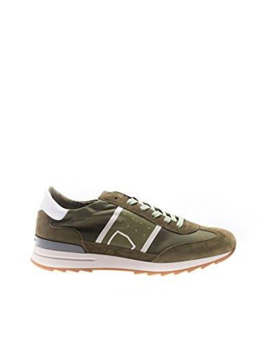 Philippe Model Mannen Pslub003 Groene Suède Sneakers