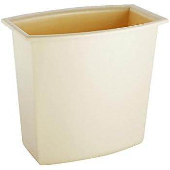Sterilite Corp. 10220012 Rectangular Vanity Wastebasket 2 Gallons (Assorted Colors)