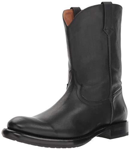 FRYE Men's Duke Roper Fashion Boot, Black, 10.5M - Frye Boot Mens Boots