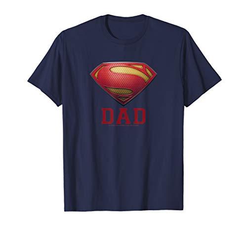 Superman Man of Steel Dad of Steel T Shirt]()