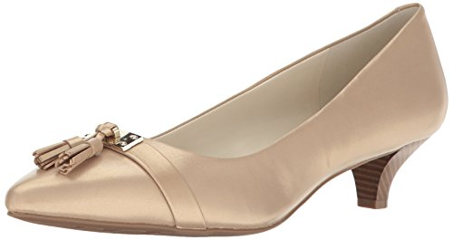 Anne Klein Women's Mandie Leather - Light Natural - 8.5 B...