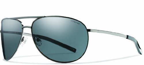 Smith Serpico Sunglasses Gunmetal/Gray, One - Optics Serpico Smith Sunglasses