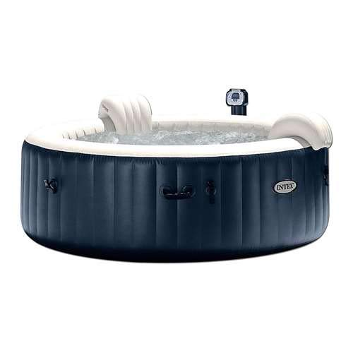 (Intex Pure Spa 6-Person Inflatable Portable Heated Bubble Hot Tub | 28409E)
