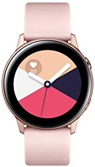 Samsung SM-R500NZDAXAR Galaxy Watch Active (40mm, GPS, Bluetooth, Wifi), Rose Gold - US Version with Warranty