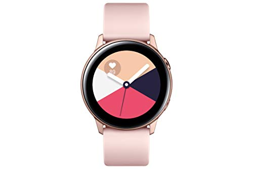 Samsung Electronics Galaxy Watch Active (40mm) Rose Gold - SM-R500NZDAXAR (Samsung Watch)