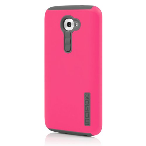 Incipio DualPro Case for LG G2 (Verizon) - Carrying Case - Retail Packaging - Cherry Blossom Pink/Gray (Best Cell Phone Case For Lg G2)