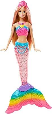 Barbie Dreamtopia Rainbow Lights Mermaid Doll, Blonde [Amazon Exclusive]