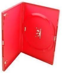 Vision Media 10 X Amaray Individual Rojo: Amazon.es: Electrónica