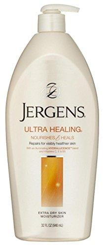 - Jergens Ultra Healing 32 Ounce Xtra Dry Skin Moisturizer Pump (946ml) (2 Pack)