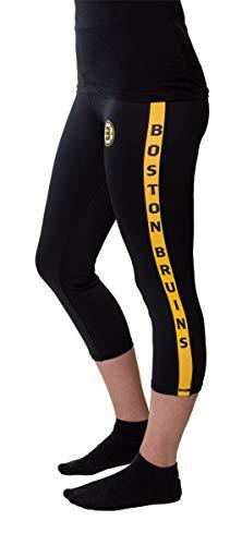 Calhoun NHL Women's Capri Leggings (Boston Bruins, X-Large) ()