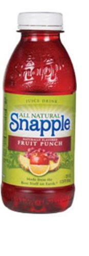 Snapple Juice Drink, Fruit Punch, 20-Ounce Bottles (Pack of 24)