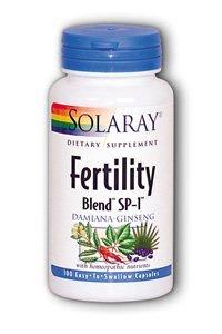 Solaray Fertility Blend Sp-1 Solaray 100 Capsules by Solaray