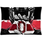 Pillowcase Ohio State Buckeyes Rectangle Covers Standard Size 20