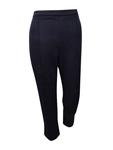 MICHAEL Michael Kors Womens Jacquard Cropped Skinny Pants Black M