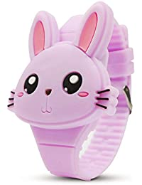 Kids Digital Watch,Cute Rabbit Shape,Girl Gifts.
