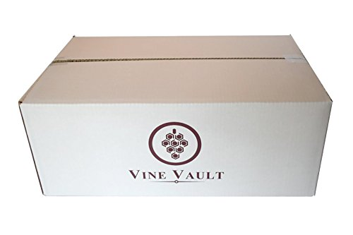 Vine Vault Wine Storage and Moving Boxes - Lay Flat Style - (Qty: 10 Boxes)