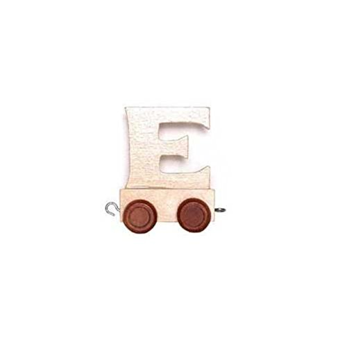 Childrens Personalised Wooden Alphabet Letter Train A-Z Name Set All Letters Available (BACK CARRIAGE) Handelhaus 4020972074874