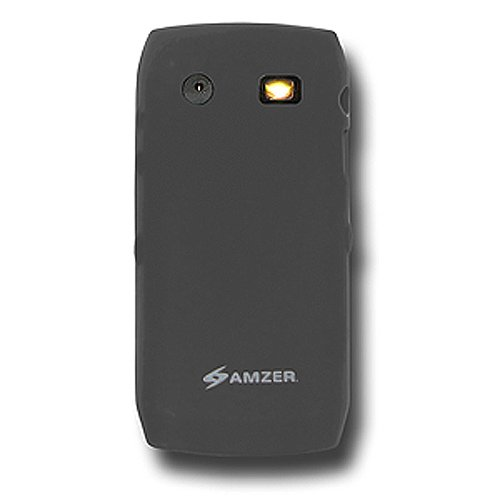 Amzer Silicone Skin Jelly Case for BlackBerry Pearl 9100/9105 - Gray