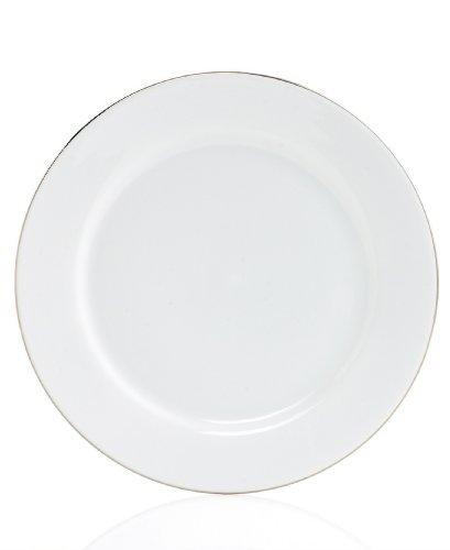 Charter Club Grand Buffet Platinum Fine Line Round Dinner Plate