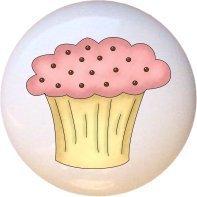 Ceramic Knob - Cupcake - Yummy in the Tummy (Ice Cream Knobs compare prices)
